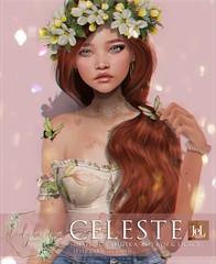 Ladybird. // Celeste Shape for Lelutka Evo. Ryn & Legacy Classic <3