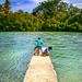 Children in Port Vila, Vanuatu