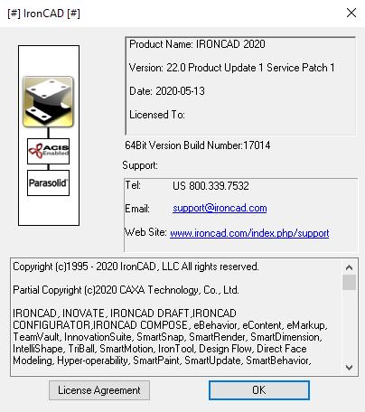 IronCAD Design Collaboration Suite 2020 PU1 SP1 full