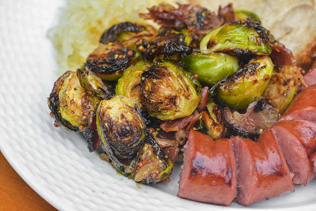 Pastrami Bacon Brussels Sprouts