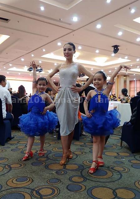 Váy latin khiêu vũ HS2890