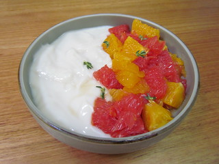 Bright Morning Citrus Salad with Herbed Syrup