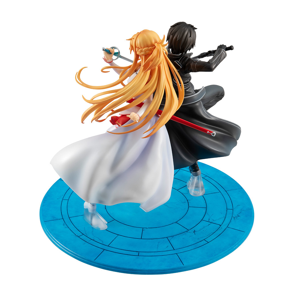Lucrea《刀劍神域》十周年紀念「桐人&亞絲娜 SAO 10thAnniversary」PVC塗裝完成品