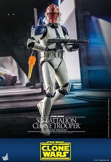 Hot Toys《星際大戰:複製人之戰》501軍團複製人士兵 1/6比例人偶