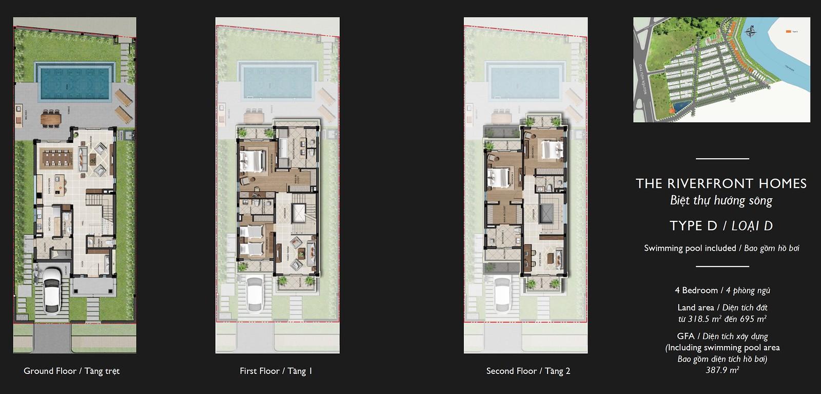 Bán Biệt thự nhà phố Nine South Nhà Bè | Nhận ký gửi BĐS 7