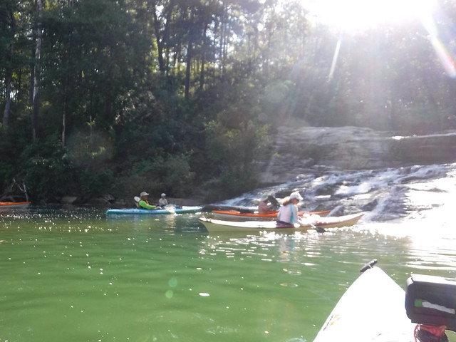 Fall Creek Falls on Lake Keowee, SC
