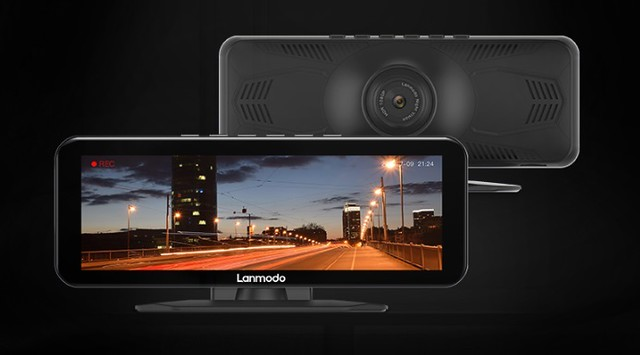 5727 Lanmodo Vast Pro Night Vision Dash Cam Lights Up the Darkness