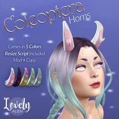 Coleoptera Horns - FREEBIE!
