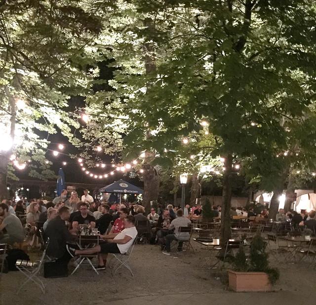 Biergarten Hofbräukeller Wiener Platz