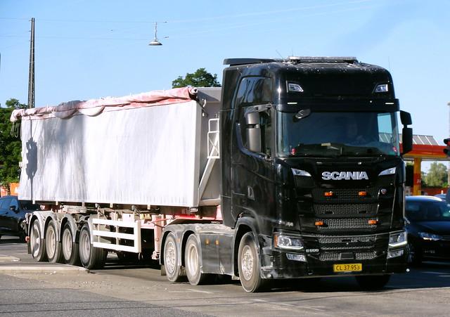 Scania S500 CL37953 articulated tipper