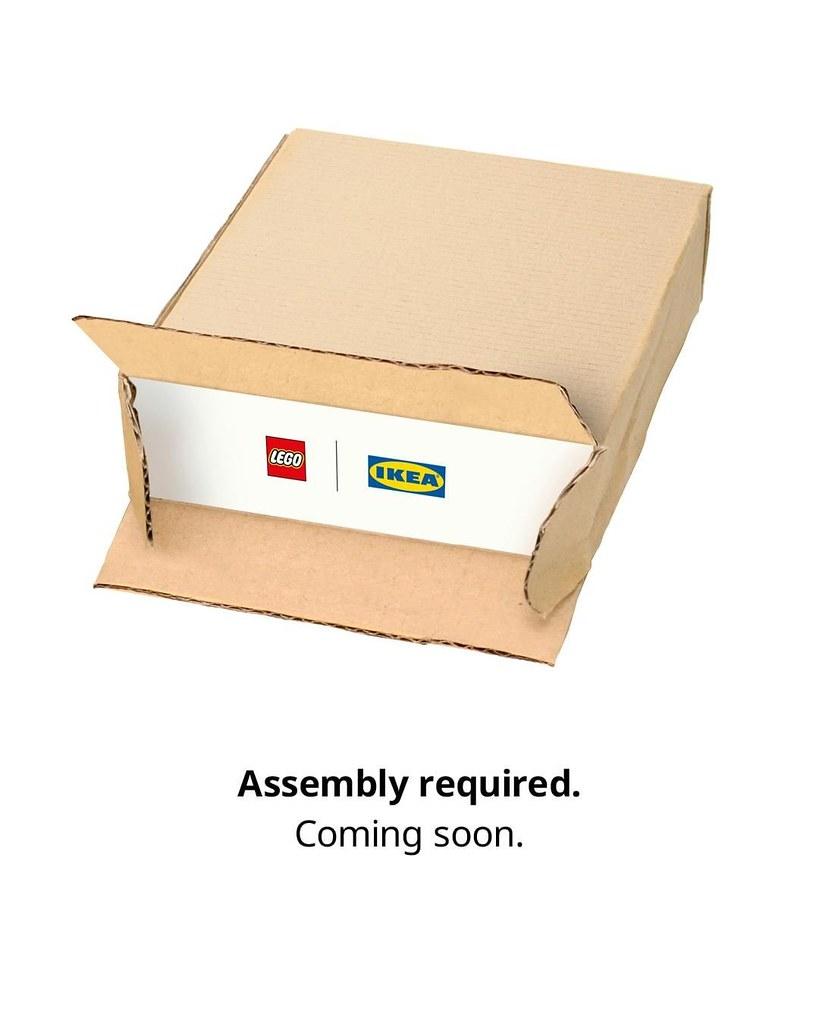 【LEGO × IKEA】全新傢俱系列「BYGGLEK」發表!預計10月登場~