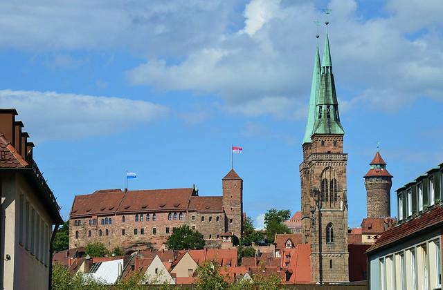 Nürnberg - Town Icons
