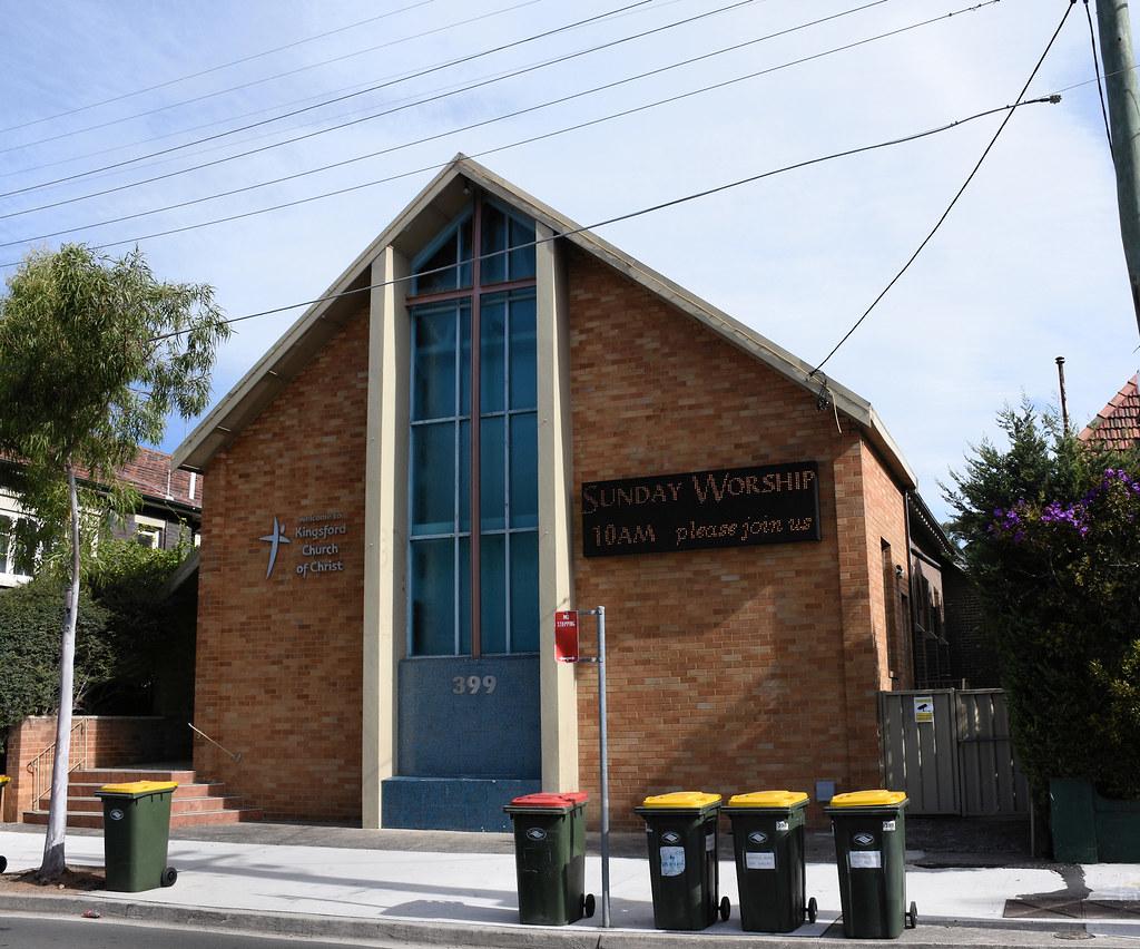 Church of Christ, Kingsford, Sydney, NSW.