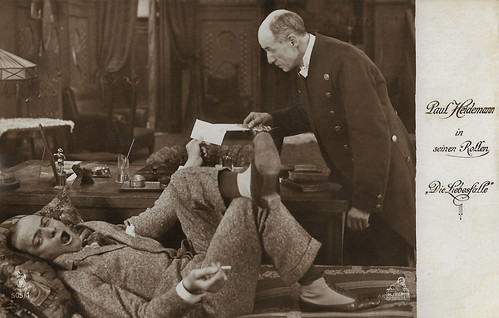 Paul Heidemann in Die Liebesfalle (1917)