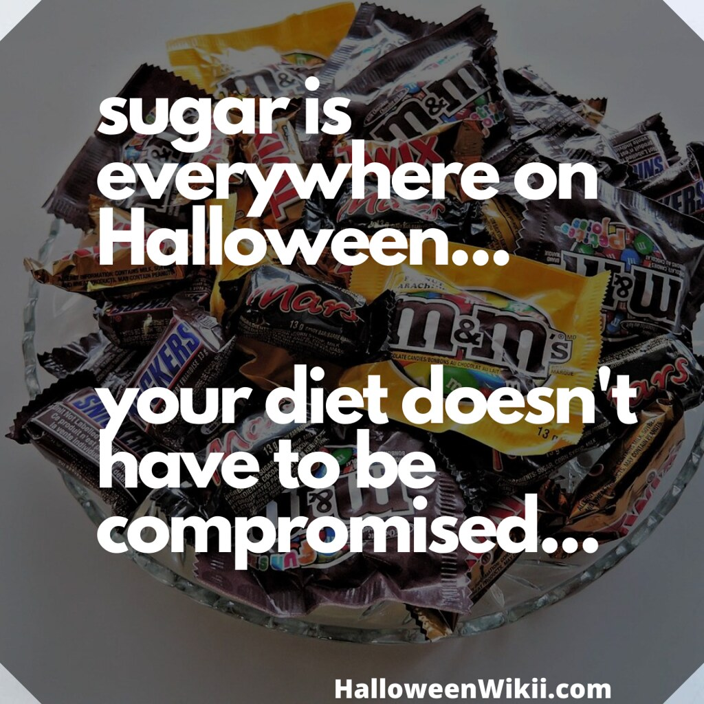Sugar is Everywhere on Halloween – Your Diet Doesn't Have to be Compromised