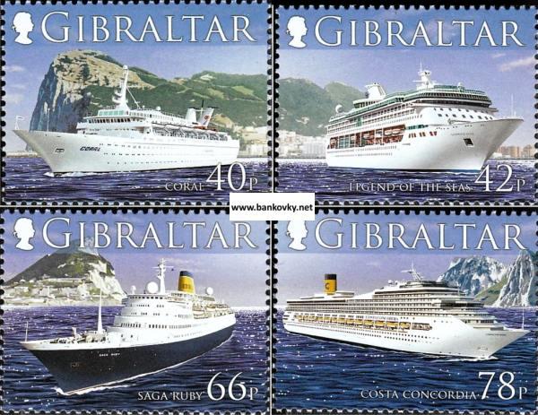 Známky Gibraltar 2006 Výletné lode