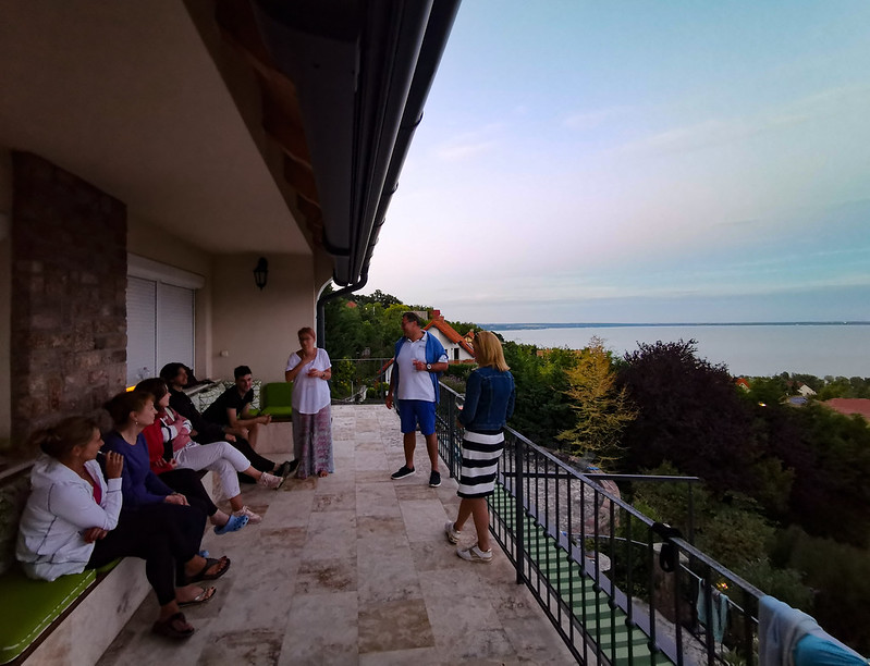 Balatonalmádi jógatábor barátokkal 2020.07.02-05.