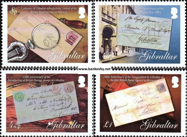 Známky Gibraltar 2007 História Gibraltaru neraz. séria MNH