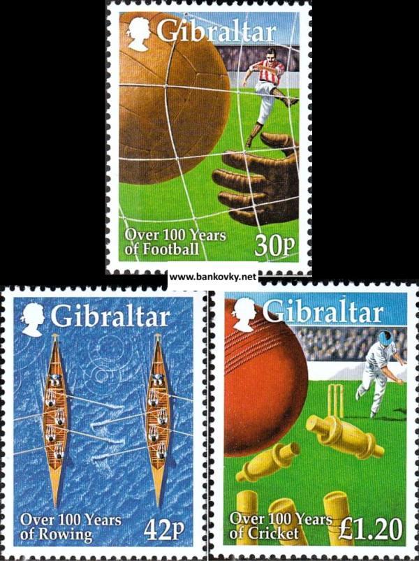 Známky Gibraltar 1999 Športy neraz. séria MNH