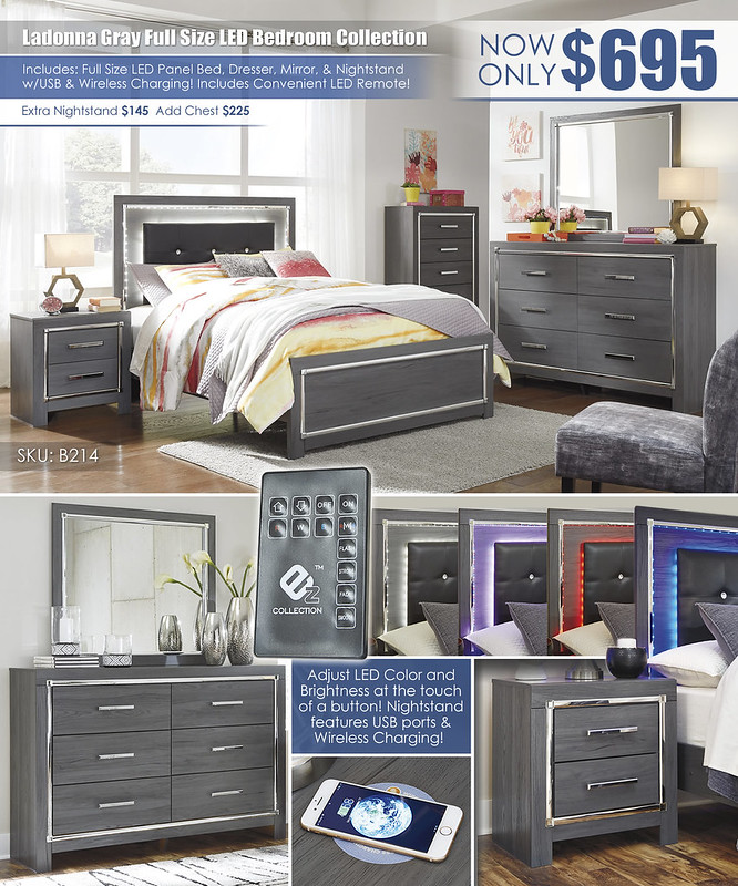 Ladonna Gray Full Size LED Bedroom Collection_B214_Layout_Update