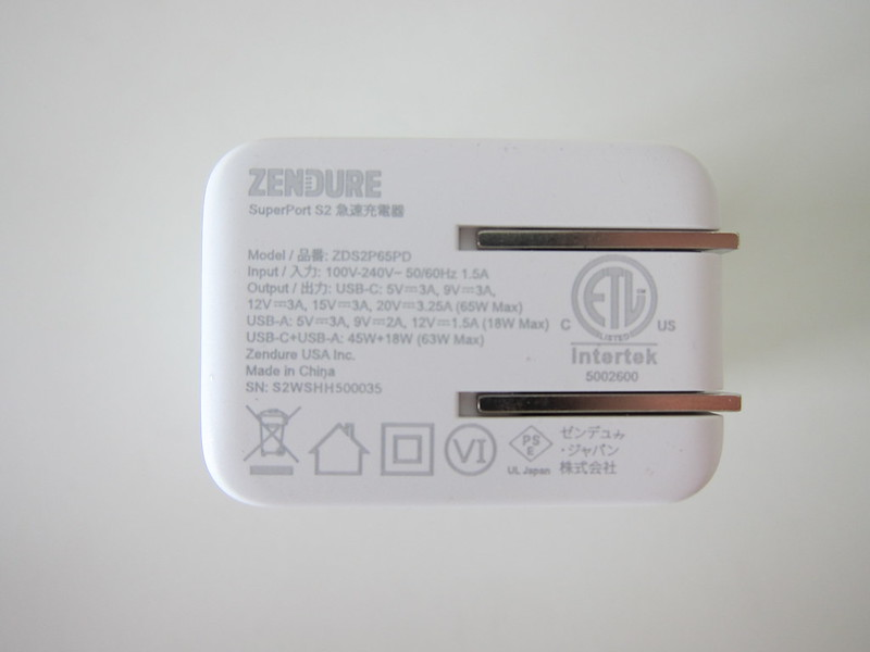 Zendure SuperPort S2 - Back