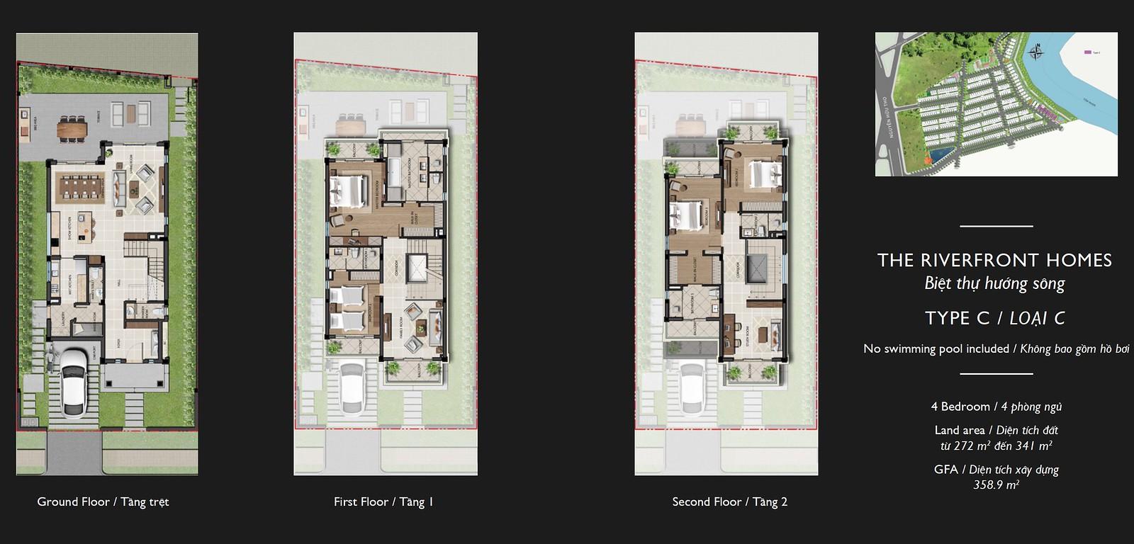 Bán Biệt thự nhà phố Nine South Nhà Bè | Nhận ký gửi BĐS 6