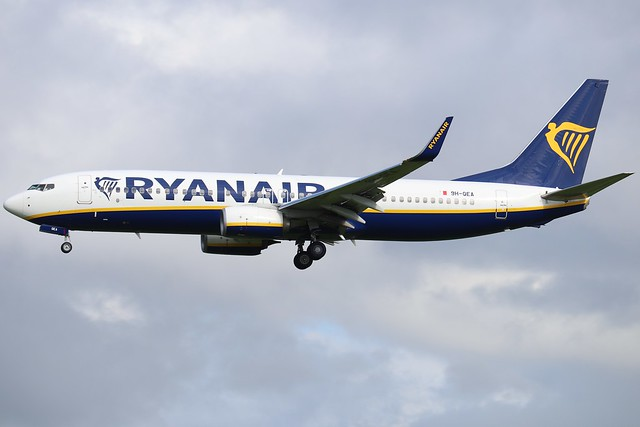 Ryanair (Malta Air) 9H-QEA BFS 26/08/20
