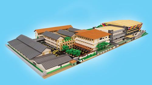 Campus In LEGO Brick.