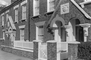 First Ave, West Kilburn, Westminster, 1988  88-3b-41-positive_2400