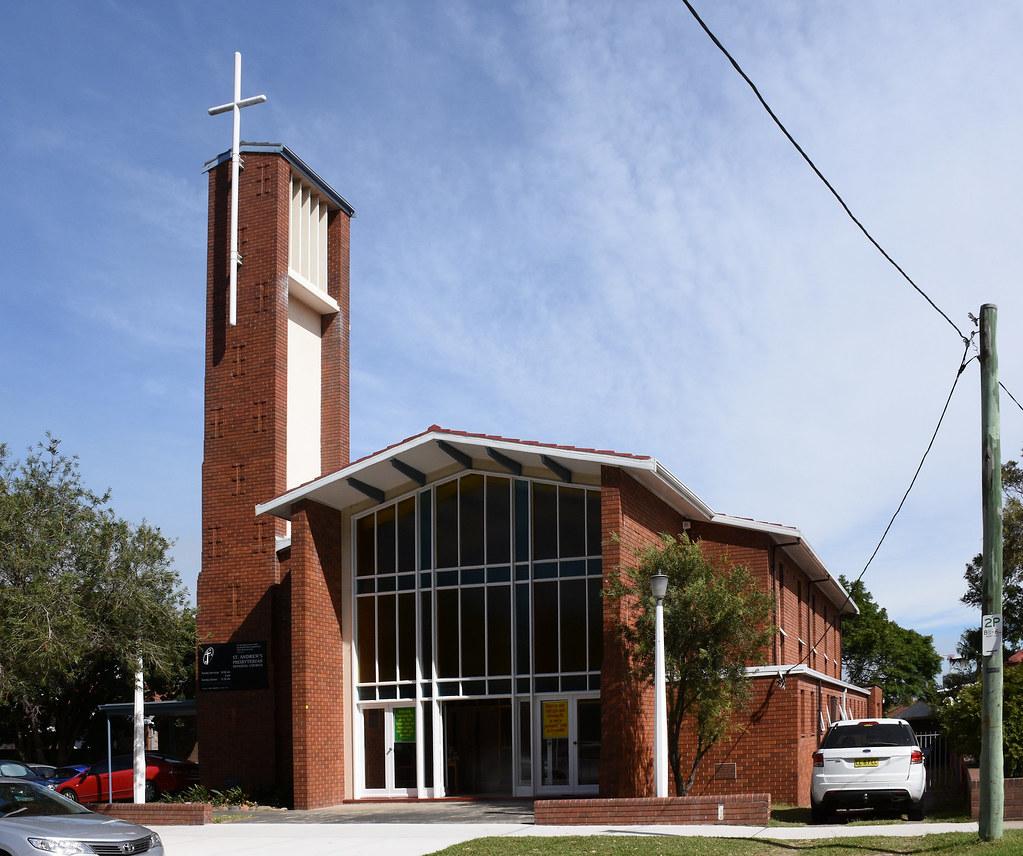 St Andrew's Presbyterian Church, Maroubra, Sydney, NSW.