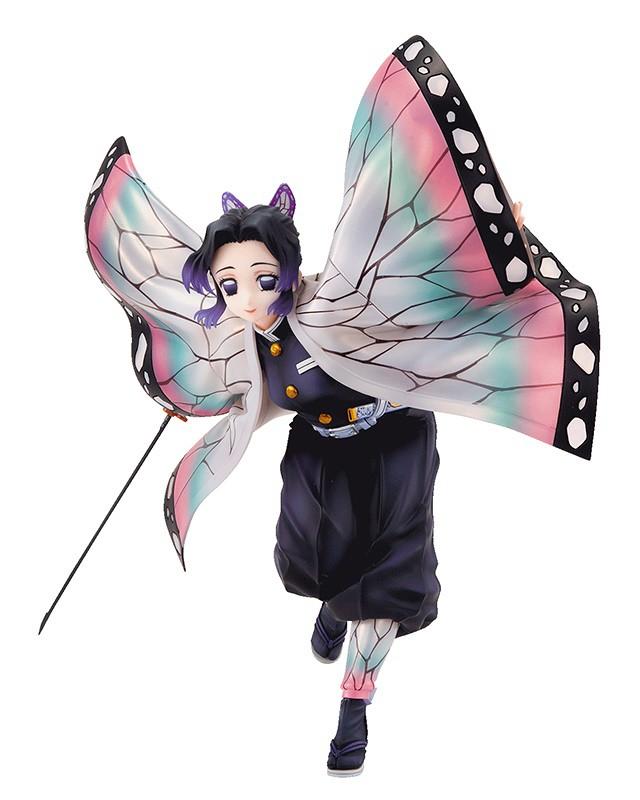 唯美輕盈的蝴蝶展翅~《鬼滅之刃》GALS系列「胡蝶忍」PVC塗裝完成品情報公開!