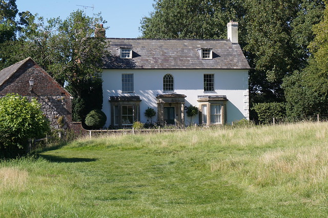 Avebury village Wiltshire