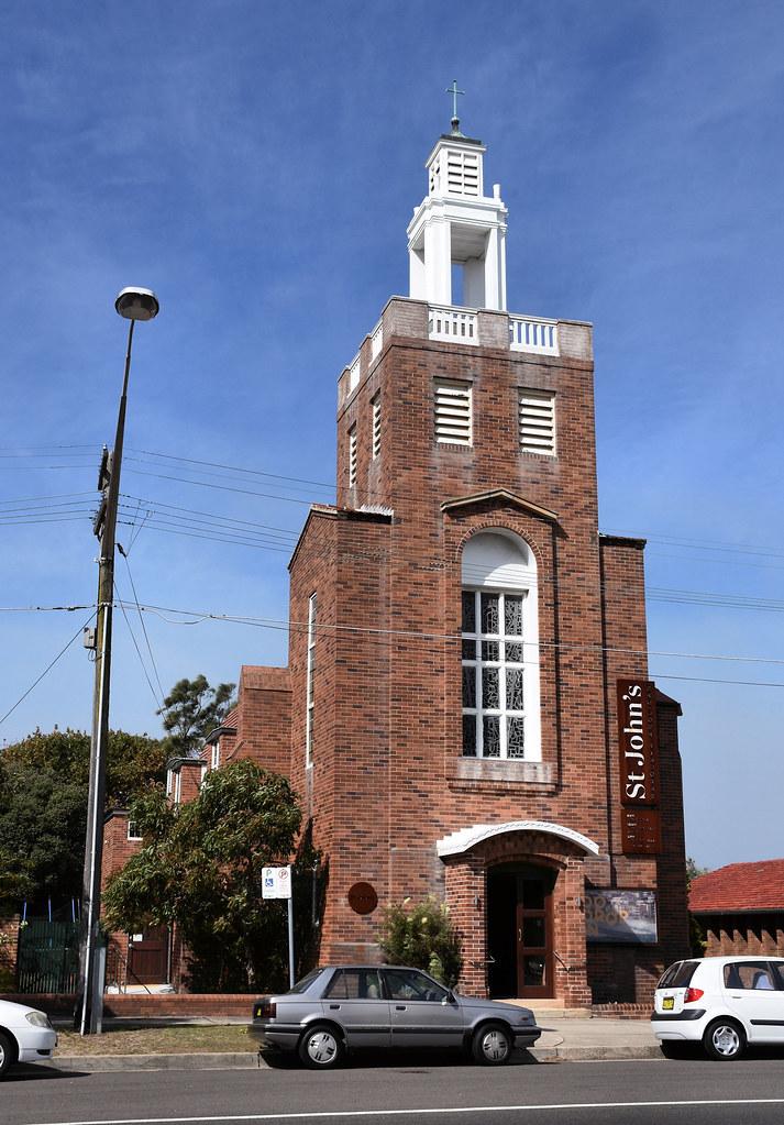 St John's Anglican Church, Maroubra, Sydney, NSW.