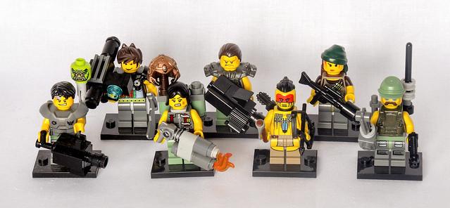 Armageddon Ork Hunters Squad 1