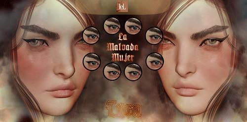 La Malvada Mujer - Tura Eyeliner / Group Gift