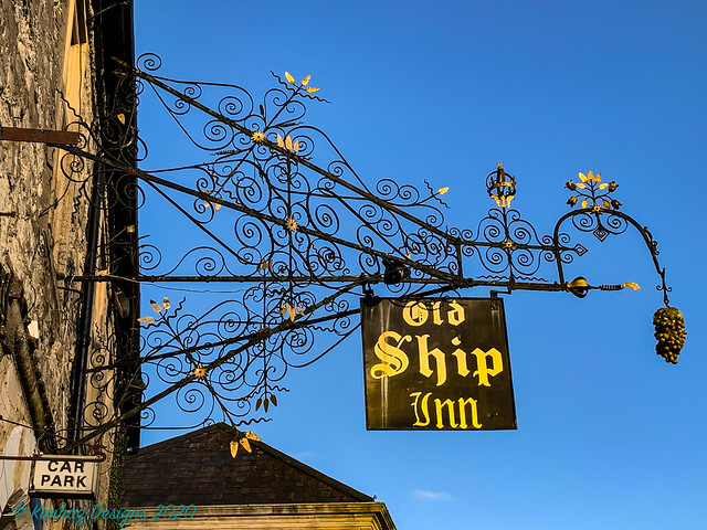 Mere - A Wiltshire Town - Wrought Iron Sign