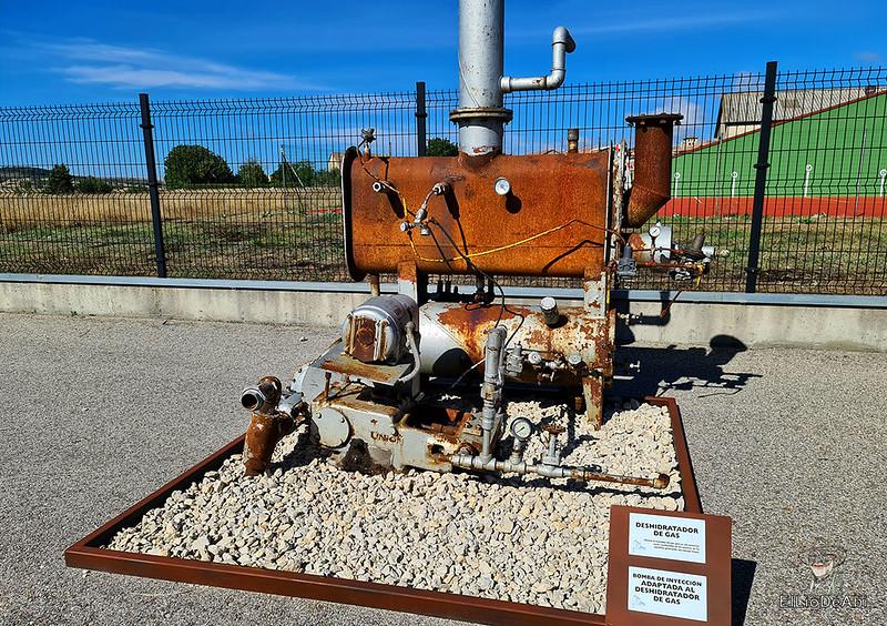 Museo del Petróleo en Sargentes de la Lora 6