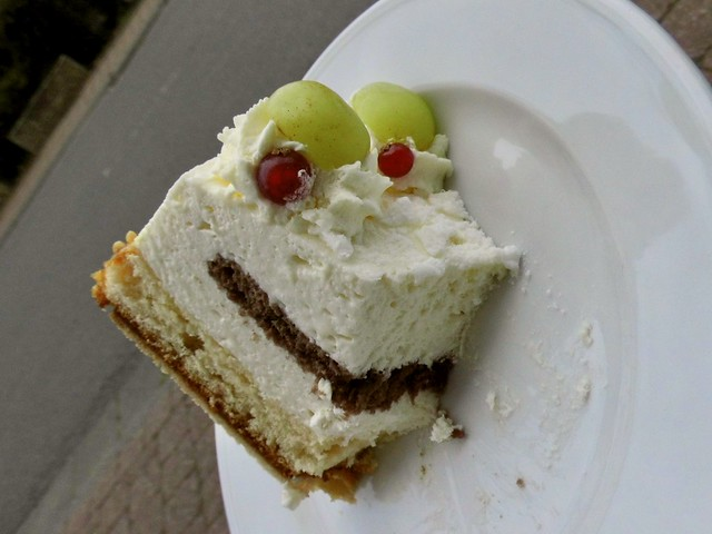 Limetten-Ricotta Torte