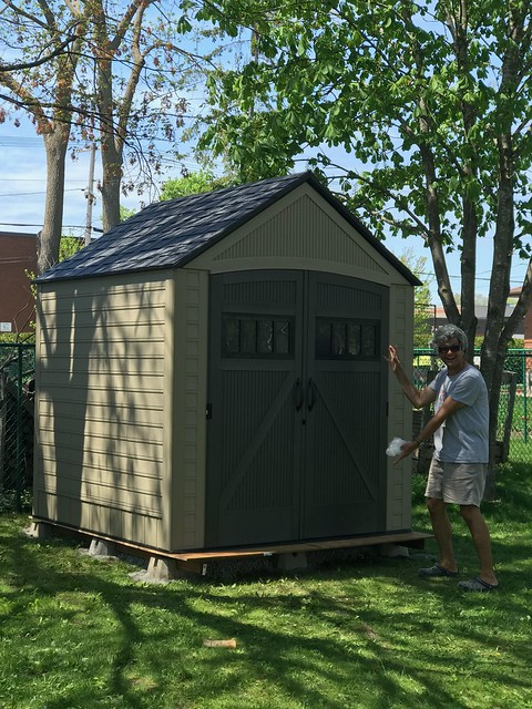 Carleton Place - finished shed