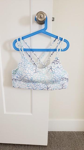 GS Power Sports Bra in Fabric Fairy Swim by replicate then deviate
