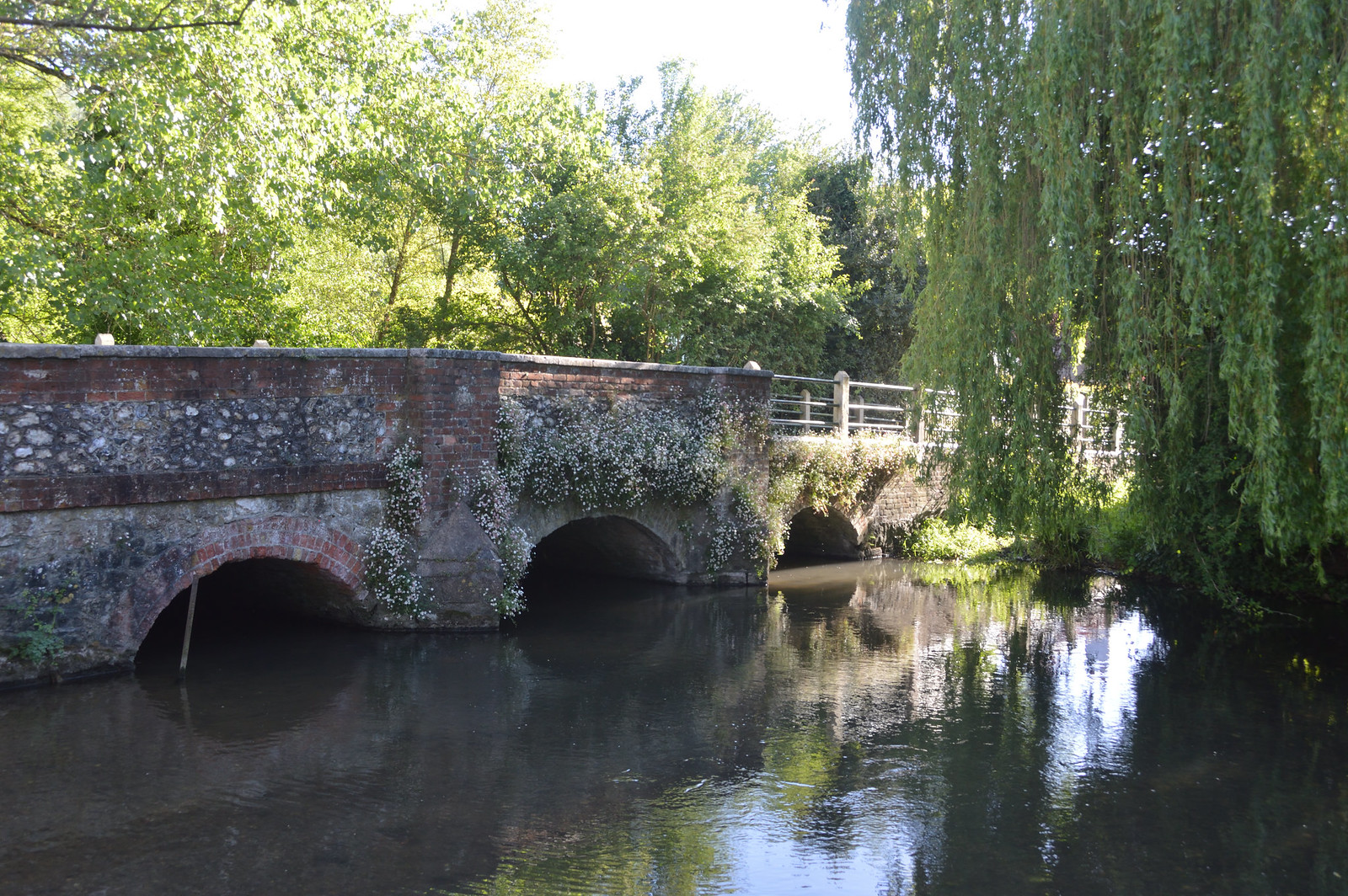 Shoreham Bridge over River Darent