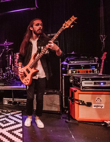 Geared Up: Sunsleep's Dylan Woods Shares His Excitement for the Orange OB1-500 Amp