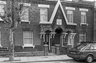 Second Ave, West Kilburn, Westminster, 1988  88-3b-44-positive_2400