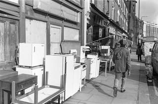 Harrow Rd, West Kilburn, Westminster, 1988  88-3b-43-positive_2400