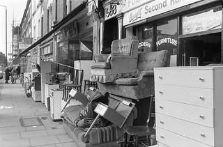 Harrow Rd, West Kilburn, Westminster, 1988  88-3b-42-positive_2400
