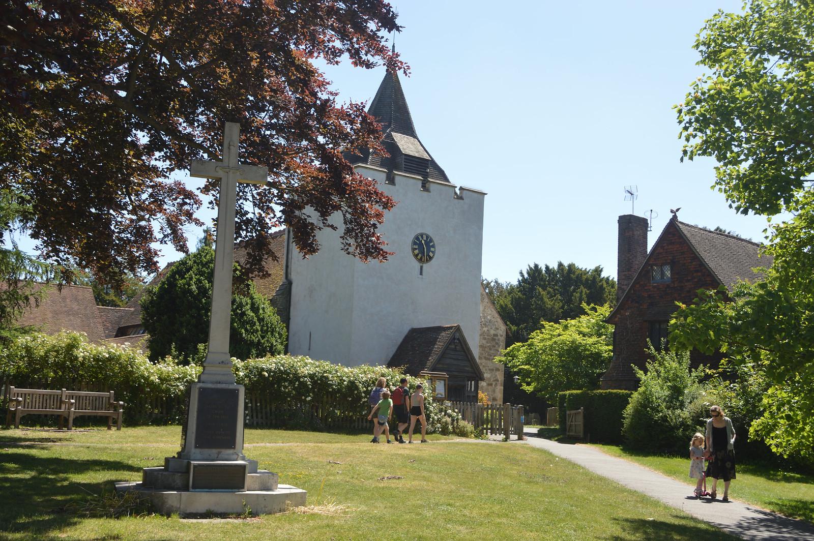 Otford church and war memorial