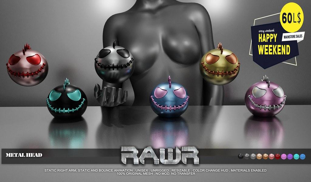 RAWR! Metal Head HW