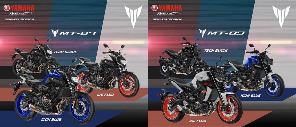 Yamaha MT-Series CBU Launching 2020