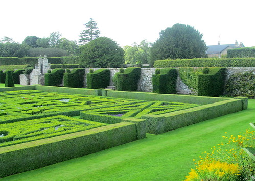 Formal Garden from Terrace, Pitmedden