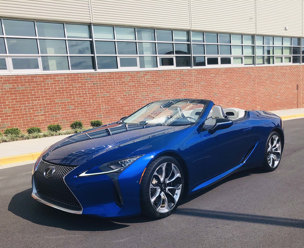 2021 lexus lc 500 convertible inspiration series: automoti
